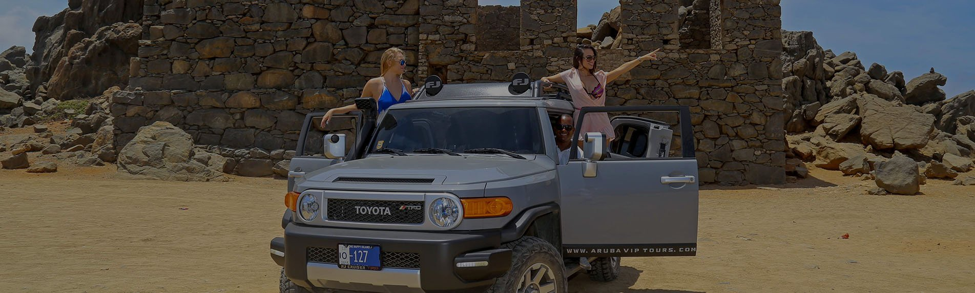 Aruba Private Jeep Tour - Four Hour